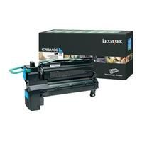 Original Genuine Cyan Return Program Lexmark C792A1CG Toner Cartridge for X752 and C792 Printer